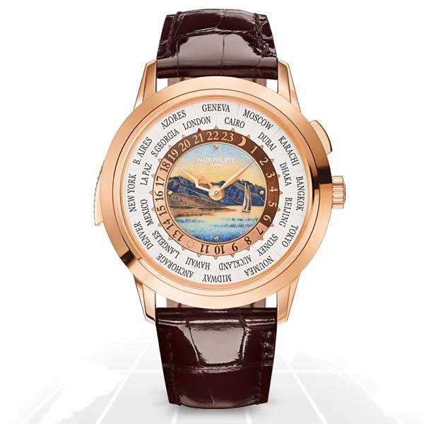 Patek Philippe	World Time Minute Repeater	5531R-012 Latest Watches