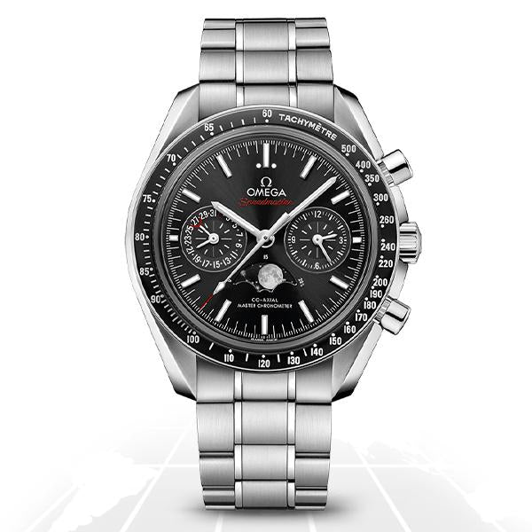 Omega Speedmaster Co-Axial Master Chronometer Moonphase 304.30.44.52.01.001 Luxury Watches