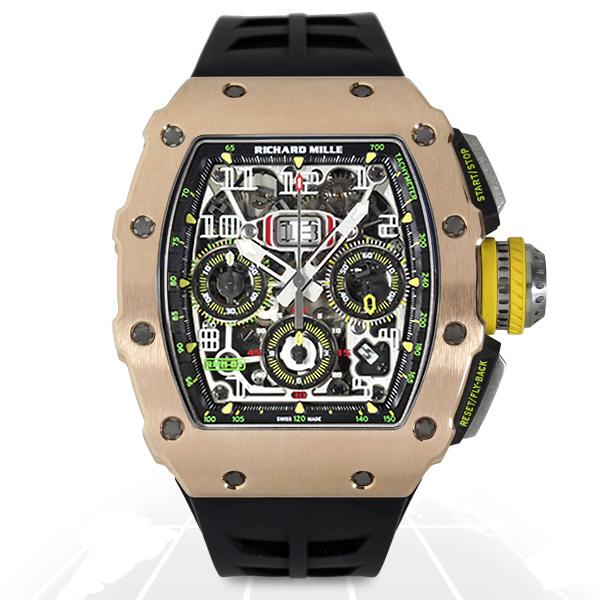 Richard Mille	Rm11-03 Automatic Flyback Chronograph	Rm11-03 Rg Ti A.t.o Watches