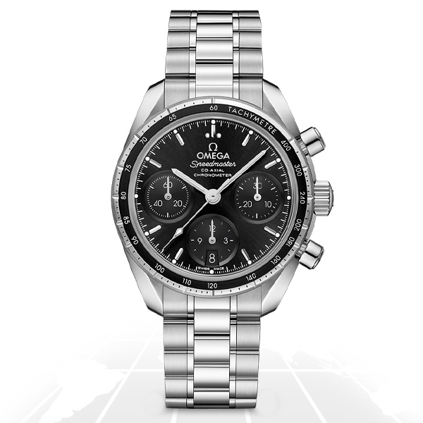 Omega	Speedmaster 38 Co-Axial Chronograph	324.30.38.50.01.001 Latest Watches