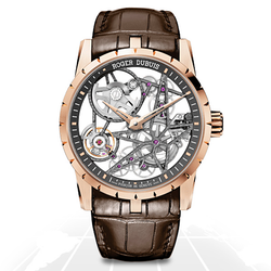 Roger Dubuis	Excalibur Rose Gold Skeleton	Rddbex0422 A.t.o Watches