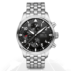Iwc	Pilot Chronograph	Iw377710 A.t.o Watches