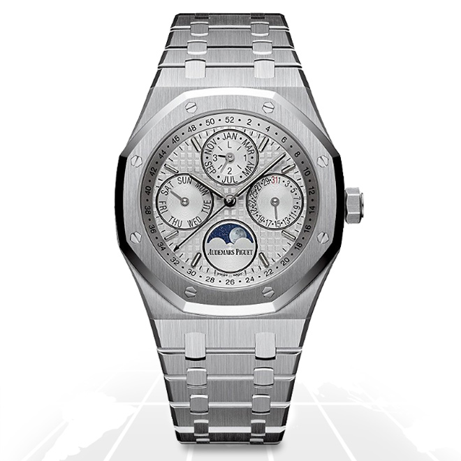 Audemars Piguet	Royal Oak Perpetual Calendar	26574St.oo.1220St.01 A.t.o Watches