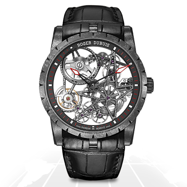 Roger Dubuis	Excalibur Carbon Skeleton	Rddbex0508 A.t.o Watches