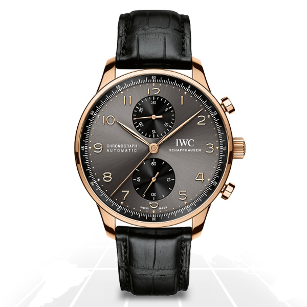 Iwc	Portugieser Chronograph	Iw371482 A.t.o Watches