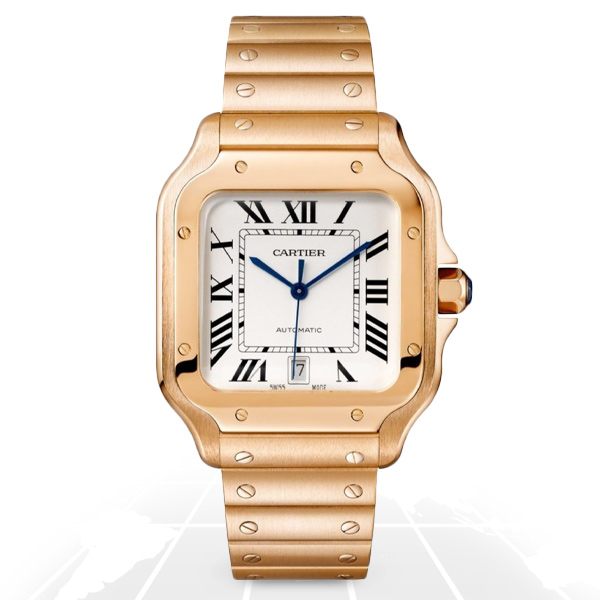 Cartier	Santos	Wgsa0008 A.t.o Watches