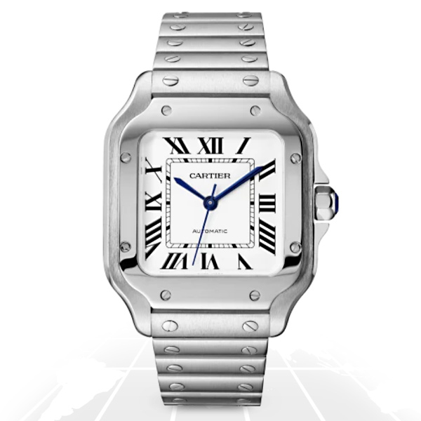 Cartier	Santos	Wssa0010 A.t.o Watches