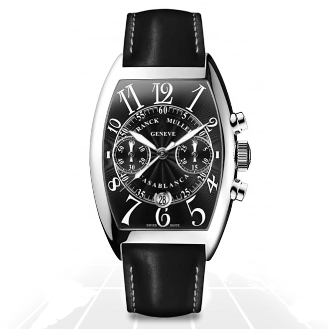 Franck Muller	Casablanca Chrono Steel	8880 C Cc Dt Ac A.t.o Watches