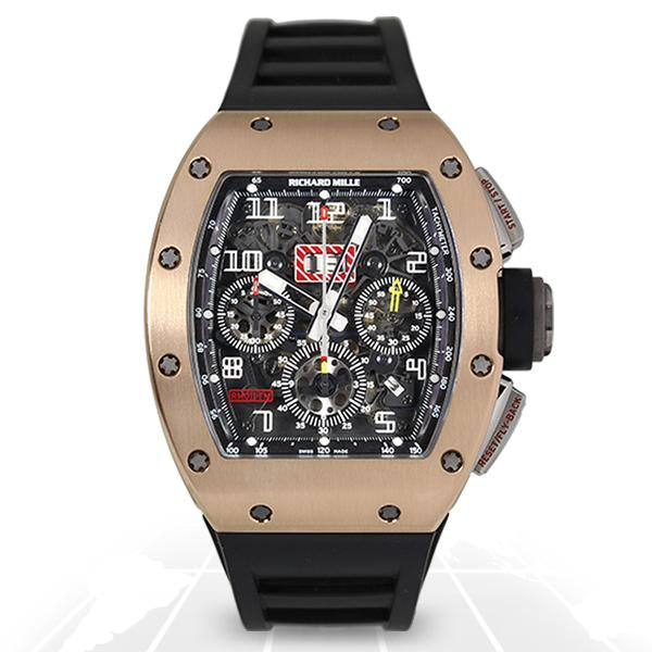 Richard Mille Rm011 Felipe Massa Aj Rg Luxury Watches