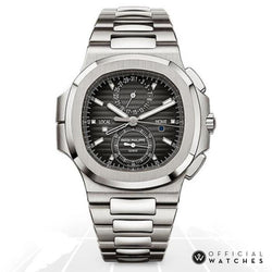 Patek Philippe Nautilus Travel Time Chronograph 5990/1A-001 Luxury Watches
