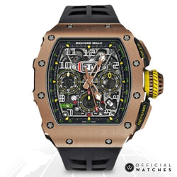 Richard Mille Automatic Flyback Chronograph Rm11-03 Rg Luxury Watches