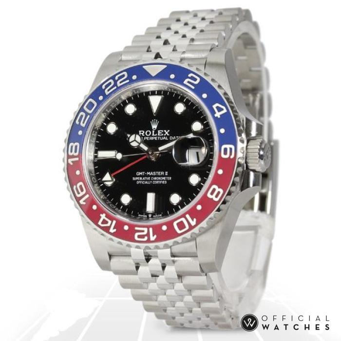 Rolex Gmt-Master Ii Pepsi 126710Blro Luxury Watches