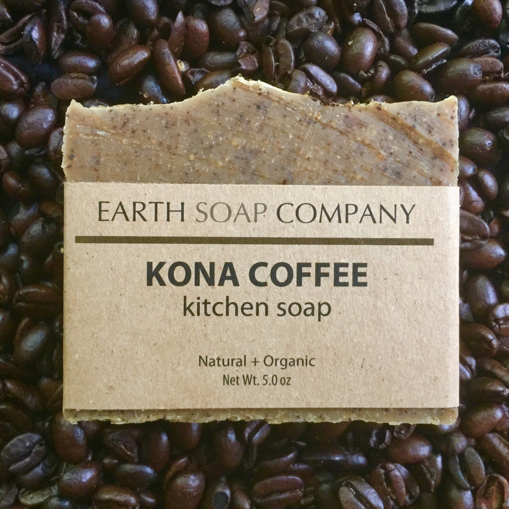 Kona Coffee Kitchen Soap - Earth Soap Company