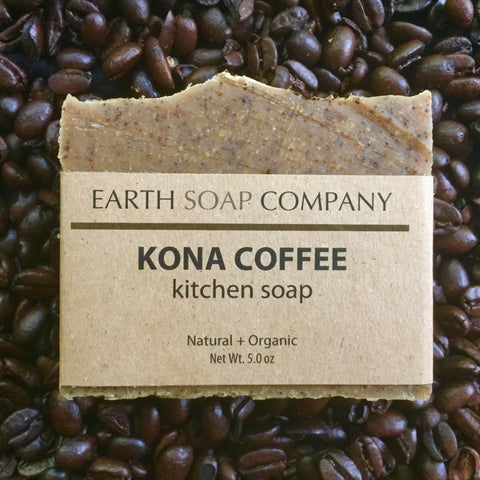 Kona Coffee Kitchen Soap