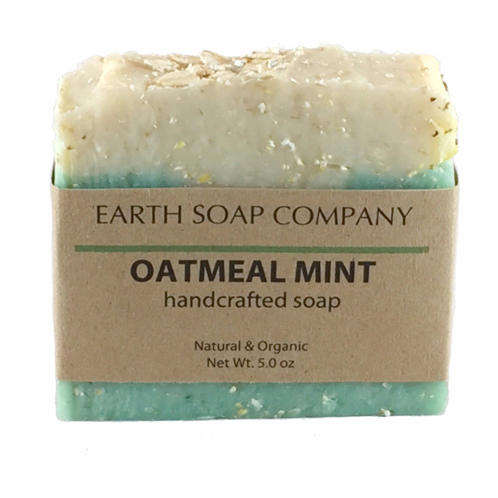 Artisan Handcrafted Oatmeal Mint Soap