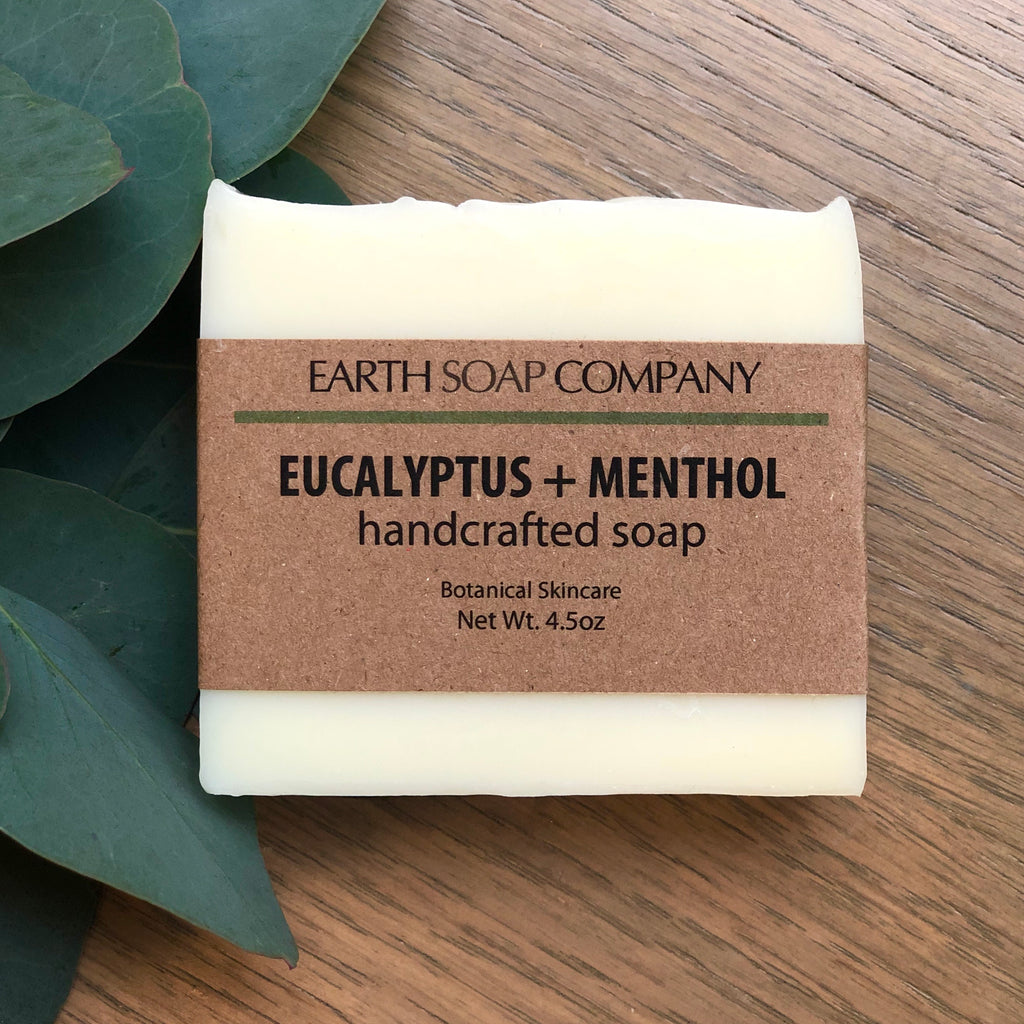 Eucalyptus + Menthol handcrafted soap