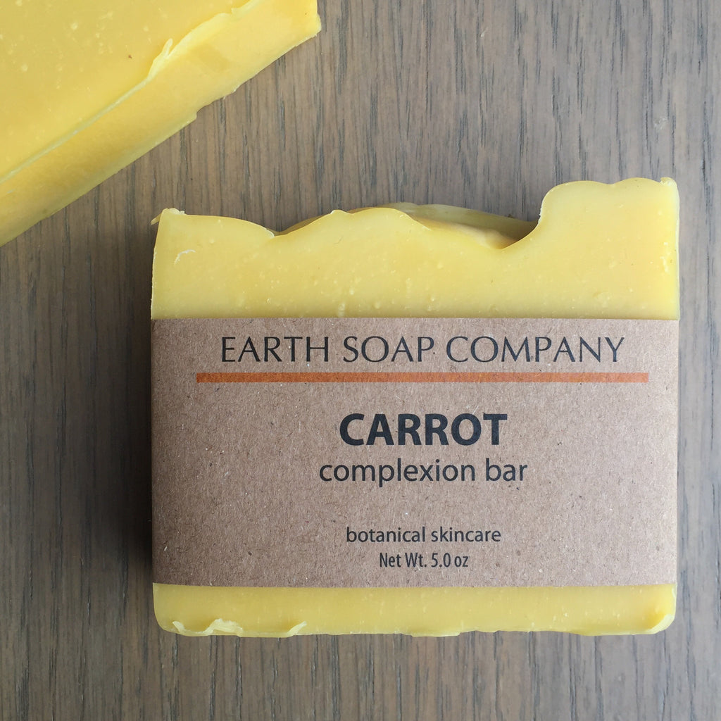 Carrot Complexion Face Soap for Mature Skin
