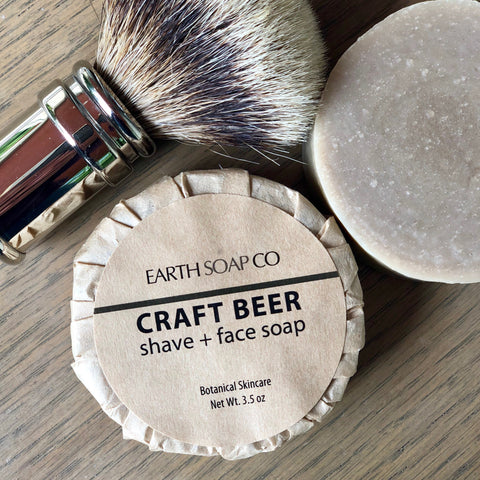 Craft Beer Shave Soap