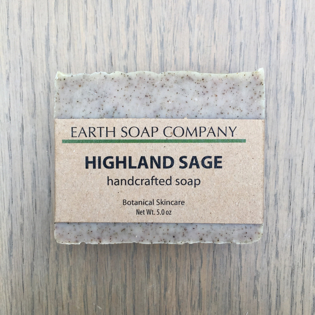 Handcrafted Sage Soap