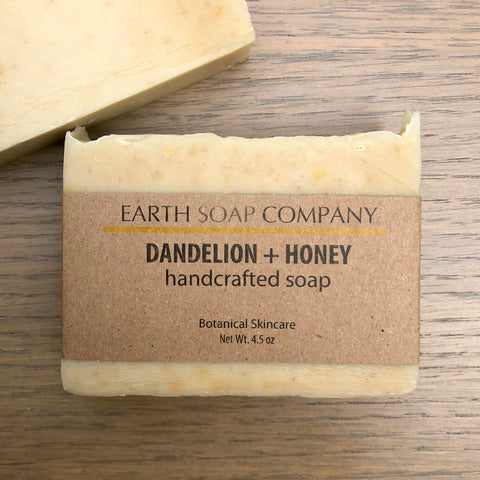 Dandelion + Honey Soap