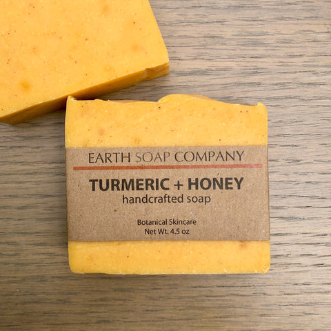 Turmeric + Honey Soap