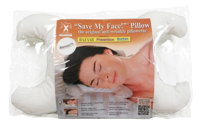 Save My Face LeGrand PillowCASE ONLY 100/% Silk Wh or Gld NEW IN PACKAGE