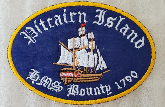 HMS Bounty Embroidered Decal