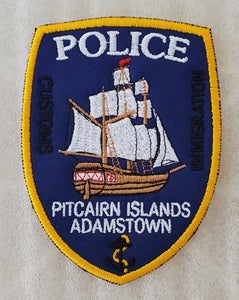 Pitcairn Islands Police  - Embroidered Shield Insignia