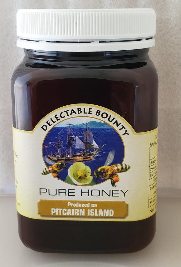 Pure Pitcairn Island Honey från Delectable Bounty - 500 g