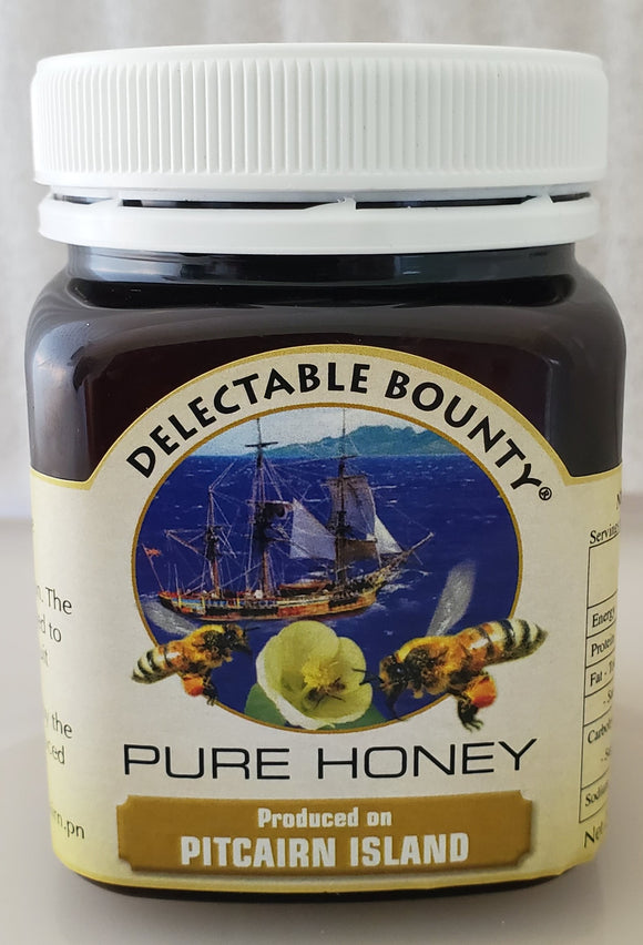 Pure Pitcairn Island Honey av Delectable Bounty - 250gm