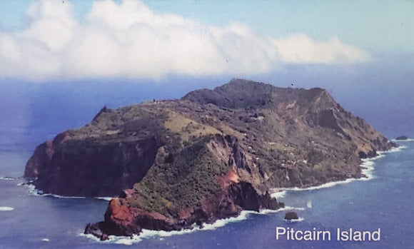 Pitcairn Island Fridge Magnet Strip