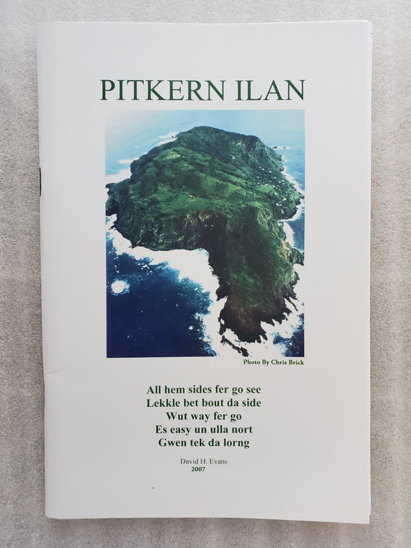 Pitcairn Island Booklet