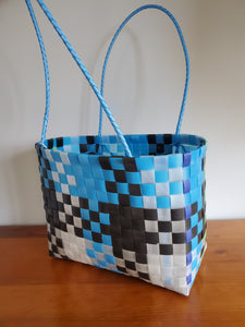 Hand made Strap Bag from Recyled Plastic