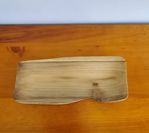 Hand Made Wooden Serving Platter from Local Burau Wood