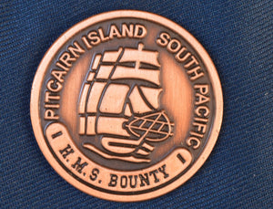 Pitcairn Island branded lapel pin