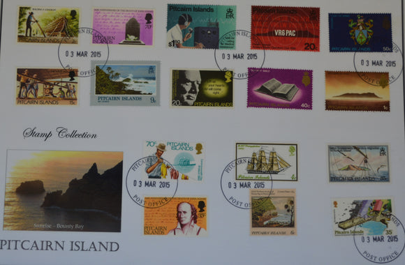 Collection de timbres de l'île Pitcairn