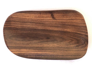 Handmade Serving Platter from local Tau wood - medium