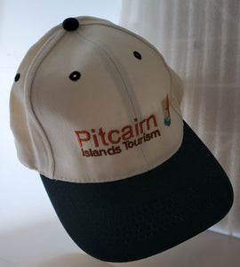 Pitcairn Islands Tourism Cap - Embroidered Logo