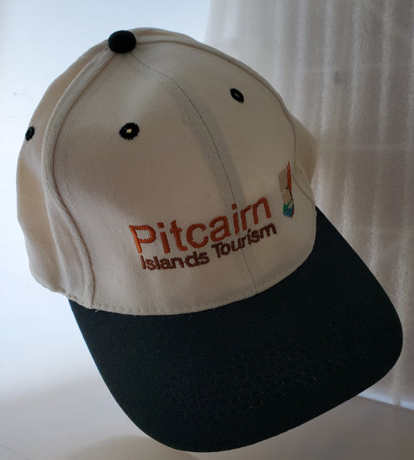 Pitcairn Islands Tourism Cap - Broderad logotyp