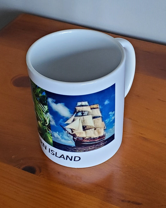 Pitcairn Island Coffee Mug - 2 Bounties