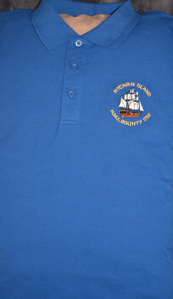 Pitcairn Island branded Polo shirt