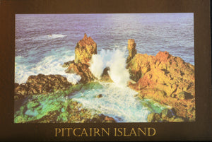 Pitcairn Islands Postcard - St Paul's Pool