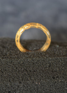 Hand crafted ring