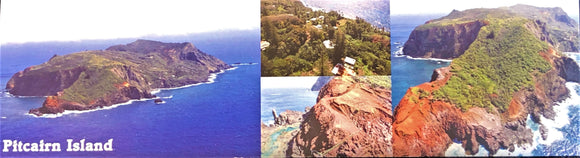 Bookmark - Pitcairn  Island Aerial Views- Card Stock