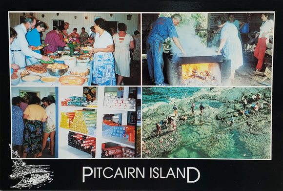 Pitcairn Islands Post Card - Our Life 70s Style