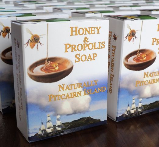 Håndlaget Honey and Propolis Soap