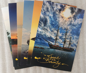Spirit of the Bounty Postcard - Complete Set of 6