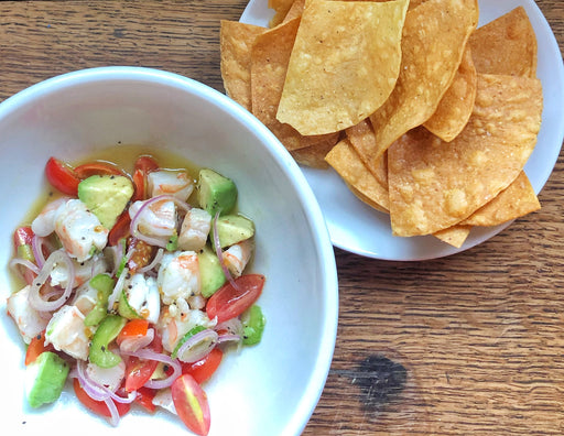 Story Plate Recipes: Shrimp Ceviche - Lighthouse BK