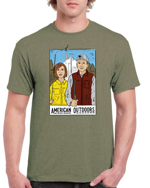 AMERICAN OUTDOORS T-shirt