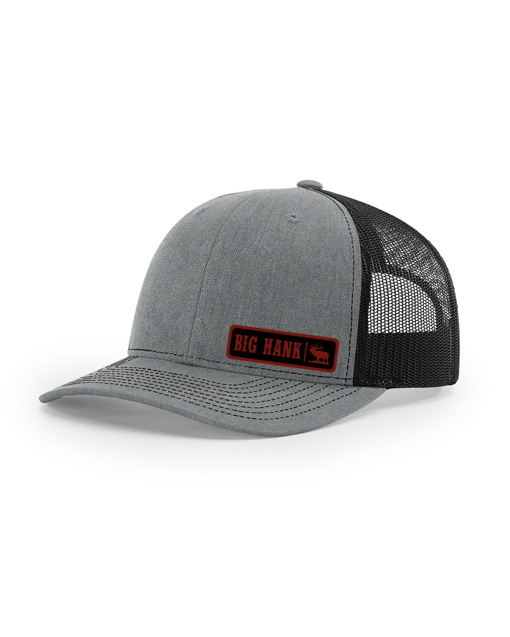 The BIG HANK LEATHER PATCH Hat